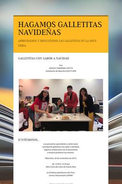 HAGAMOS GALLETITAS NAVIDEÑAS