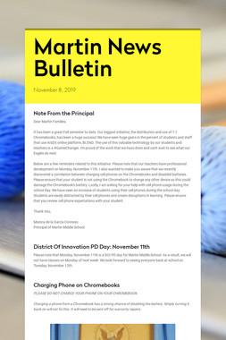 Martin News Bulletin