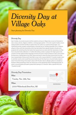 Diversity Day at Village Oaks