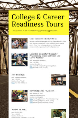 College & Career Readiness Tours
