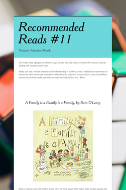 Recommended Reads #11