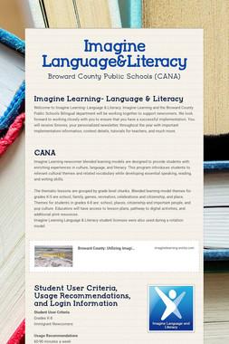 Imagine Language&Literacy