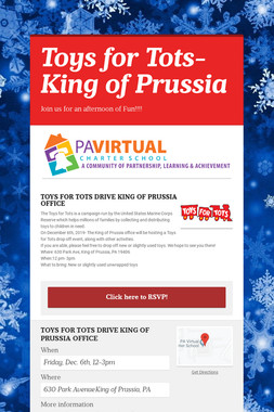 Toys for Tots- King of Prussia