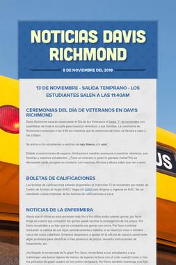 Noticias Davis Richmond