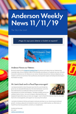 Anderson Weekly News 11/11/19