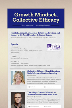 Growth Mindset, Collective Efficacy