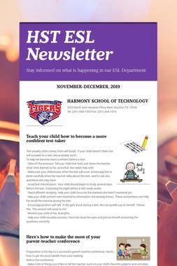 HST ESL Newsletter