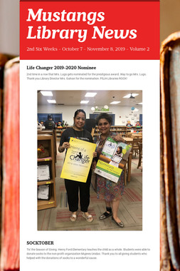 Mustangs Library News