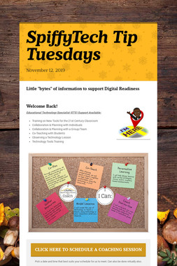 SpiffyTech Tip Tuesdays