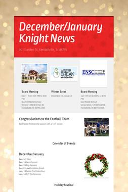 December/January Knight News