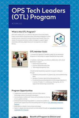 OPS Tech Leaders (OTL) Program
