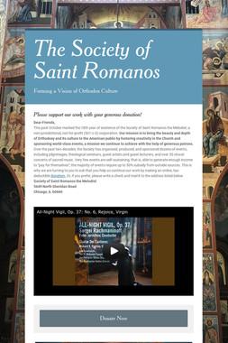 The Society of Saint Romanos