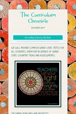 The Curriculum Chronicle