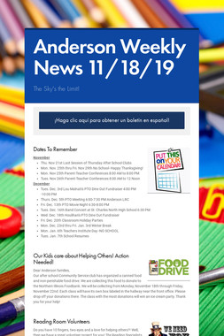 Anderson Weekly News 11/18/19