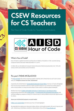 CSEW Resources for CS Teachers