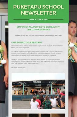 Week 9, Puketapu School Newsletter