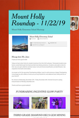 Mount Holly Roundup - 11/22/19