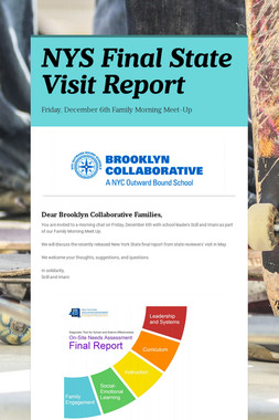 NYS Final State Visit Report