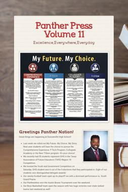 Panther Press Volume 11