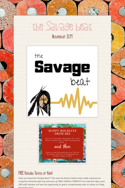 the Savage beat
