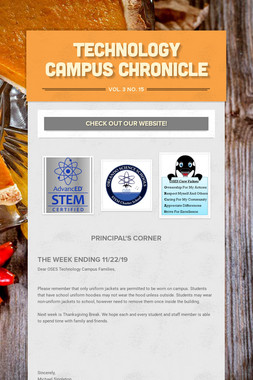 Technology Campus Chronicle