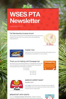 WSES PTA Newsletter