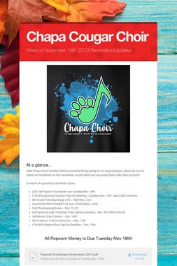 Chapa Cougar Choir