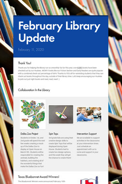 November Library Update