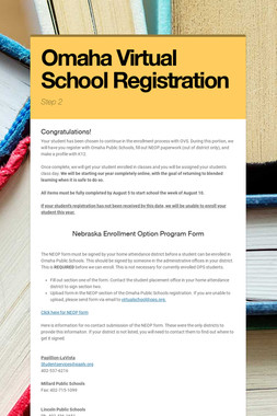 Omaha Virtual School Registration