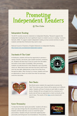 Promoting Independent Readers