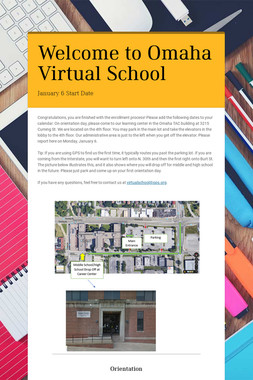 Welcome to Omaha Virtual School