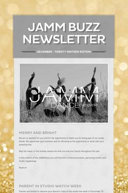 JAMM Buzz Newsletter