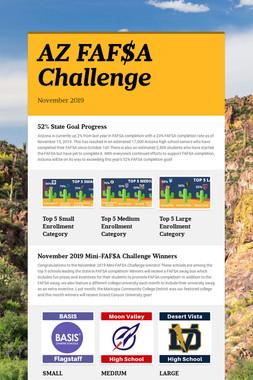 AZ FAF$A Challenge