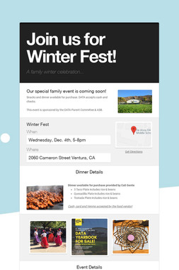 Join us for Winter Fest!
