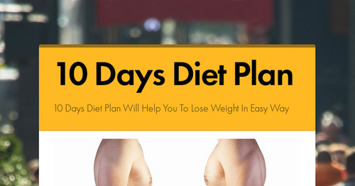 10 Days Diet Plan