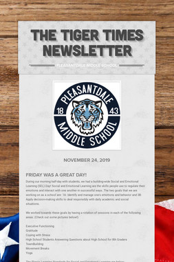 The Tiger Times Newsletter