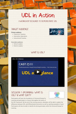 UDL in Action