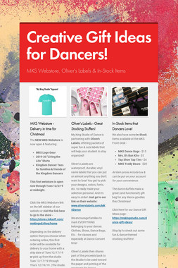 Creative Gift Ideas for Dancers!