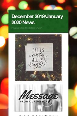December 2019/January 2020 News