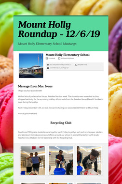 Mount Holly Roundup - 12/6/19