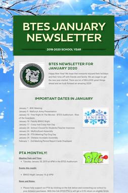 BTES January Newsletter