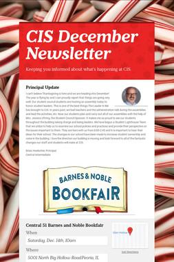 CIS December Newsletter