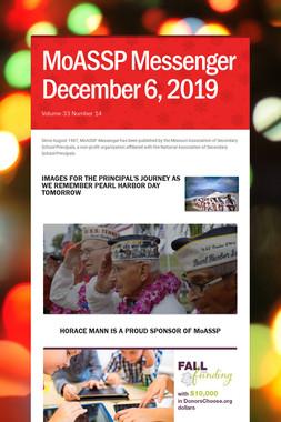 MoASSP Messenger December 6, 2019
