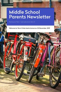 Middle School Parents Newsletter