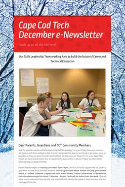 Cape Cod Tech December e-Newsletter