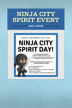 Ninja City Spirit Event
