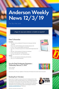 Anderson Weekly News 12/3/19