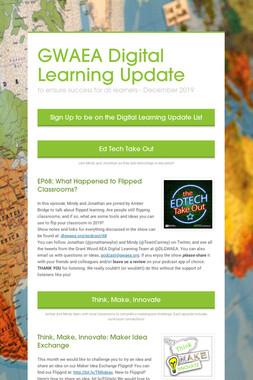 GWAEA Digital Learning Update