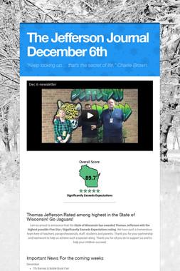 The Jefferson Journal December 6th