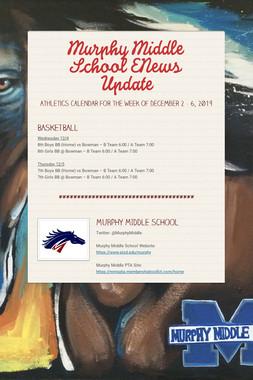 Murphy Middle School ENews Update
